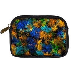 Squiggly Abstract C Digital Camera Cases by MoreColorsinLife