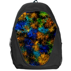 Squiggly Abstract C Backpack Bag by MoreColorsinLife