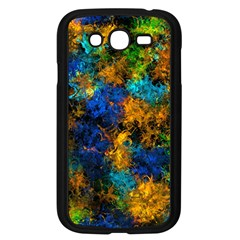 Squiggly Abstract C Samsung Galaxy Grand Duos I9082 Case (black) by MoreColorsinLife