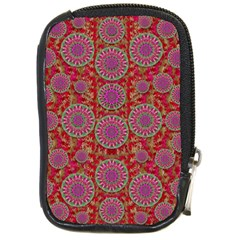 Hearts Can Also Be Flowers Such As Bleeding Hearts Pop Art Compact Camera Cases