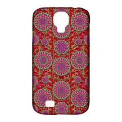Hearts Can Also Be Flowers Such As Bleeding Hearts Pop Art Samsung Galaxy S4 Classic Hardshell Case (pc+silicone) by pepitasart
