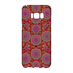 Hearts Can Also Be Flowers Such As Bleeding Hearts Pop Art Samsung Galaxy S8 Hardshell Case