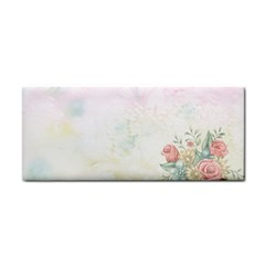 Romantic Watercolor Books And Flowers Cosmetic Storage Cases by paulaoliveiradesign