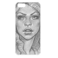 Dreaded Princess  Apple Iphone 5 Seamless Case (white)