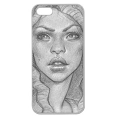Dreaded Princess  Apple Seamless Iphone 5 Case (clear)