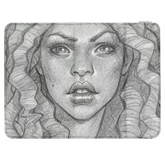 Dreaded Princess  Samsung Galaxy Tab 7  P1000 Flip Case