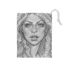 Dreaded Princess  Drawstring Pouches (medium)
