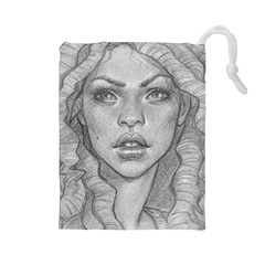 Dreaded Princess  Drawstring Pouches (large)