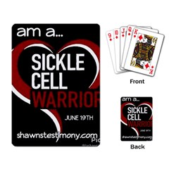 Warrior  Playing Card