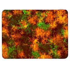 Squiggly Abstract F Samsung Galaxy Tab 7  P1000 Flip Case by MoreColorsinLife