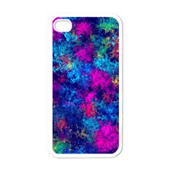 Squiggly Abstract E Apple Iphone 4 Case (white)