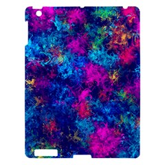 Squiggly Abstract E Apple Ipad 3/4 Hardshell Case by MoreColorsinLife