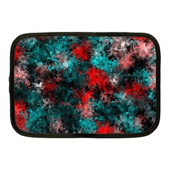 Squiggly Abstract D Netbook Case (medium)  by MoreColorsinLife