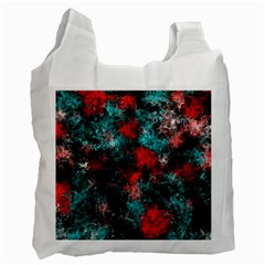 Squiggly Abstract D Recycle Bag (two Side)  by MoreColorsinLife
