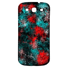 Squiggly Abstract D Samsung Galaxy S3 S Iii Classic Hardshell Back Case by MoreColorsinLife