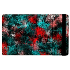 Squiggly Abstract D Apple Ipad Pro 9 7   Flip Case by MoreColorsinLife