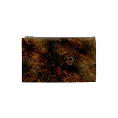 Wonderful Marbled Structure A Cosmetic Bag (small)  by MoreColorsinLife