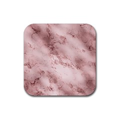 Wonderful Marbled Structure E Rubber Square Coaster (4 Pack)  by MoreColorsinLife