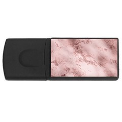 Wonderful Marbled Structure E Rectangular Usb Flash Drive