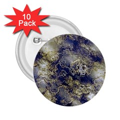 Wonderful Marbled Structure D 2 25  Buttons (10 Pack)  by MoreColorsinLife