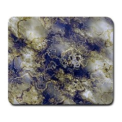 Wonderful Marbled Structure D Large Mousepads by MoreColorsinLife