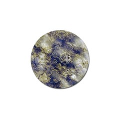 Wonderful Marbled Structure D Golf Ball Marker