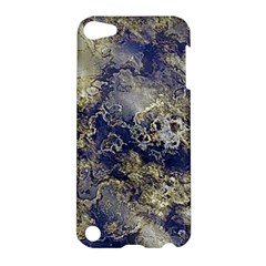 Wonderful Marbled Structure D Apple Ipod Touch 5 Hardshell Case by MoreColorsinLife