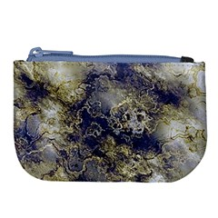 Wonderful Marbled Structure D Large Coin Purse by MoreColorsinLife