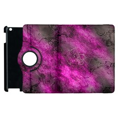 Wonderful Marbled Structure C Apple Ipad 3/4 Flip 360 Case by MoreColorsinLife