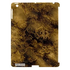 Wonderful Marbled Structure B Apple Ipad 3/4 Hardshell Case (compatible With Smart Cover) by MoreColorsinLife