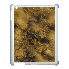 Wonderful Marbled Structure B Apple Ipad 3/4 Case (white) by MoreColorsinLife