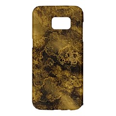 Wonderful Marbled Structure B Samsung Galaxy S7 Edge Hardshell Case by MoreColorsinLife