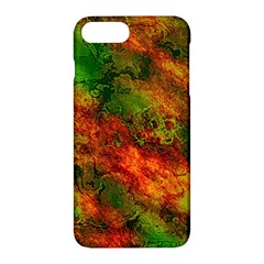 Wonderful Marbled Structure F Apple Iphone 7 Plus Hardshell Case by MoreColorsinLife