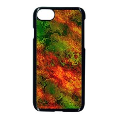 Wonderful Marbled Structure F Apple Iphone 7 Seamless Case (black) by MoreColorsinLife