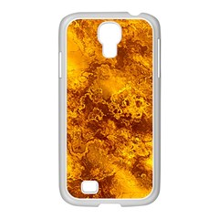 Wonderful Marbled Structure H Samsung Galaxy S4 I9500/ I9505 Case (white) by MoreColorsinLife