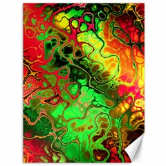 Awesome Fractal 35i Canvas 36  X 48   by MoreColorsinLife