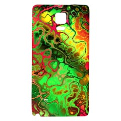 Awesome Fractal 35i Galaxy Note 4 Back Case by MoreColorsinLife