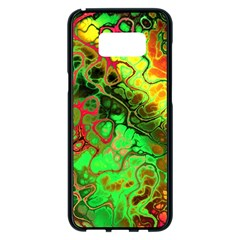 Awesome Fractal 35i Samsung Galaxy S8 Plus Black Seamless Case by MoreColorsinLife