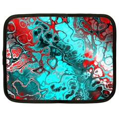 Awesome Fractal 35g Netbook Case (large) by MoreColorsinLife