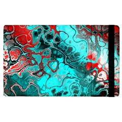 Awesome Fractal 35g Apple Ipad 3/4 Flip Case by MoreColorsinLife