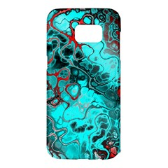 Awesome Fractal 35g Samsung Galaxy S7 Edge Hardshell Case by MoreColorsinLife