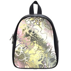 Awesome Fractal 35h School Bag (small) by MoreColorsinLife