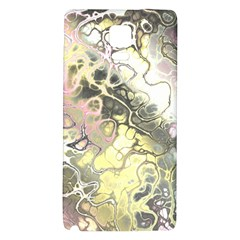 Awesome Fractal 35h Galaxy Note 4 Back Case by MoreColorsinLife