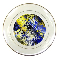 Awesome Fractal 35a Porcelain Plates by MoreColorsinLife