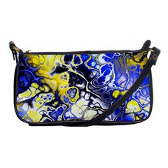 Awesome Fractal 35a Shoulder Clutch Bags by MoreColorsinLife