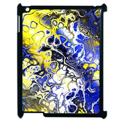 Awesome Fractal 35a Apple Ipad 2 Case (black) by MoreColorsinLife