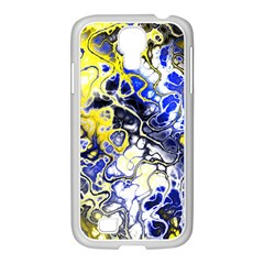 Awesome Fractal 35a Samsung Galaxy S4 I9500/ I9505 Case (white) by MoreColorsinLife