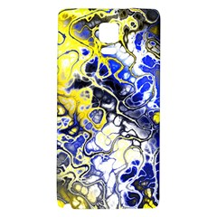Awesome Fractal 35a Galaxy Note 4 Back Case by MoreColorsinLife