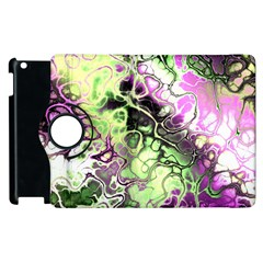 Awesome Fractal 35d Apple Ipad 3/4 Flip 360 Case by MoreColorsinLife