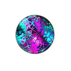 Awesome Fractal 35b Hat Clip Ball Marker by MoreColorsinLife